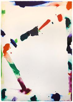 Available for sale from Aaron Payne Fine Art, Sam Francis, Untitled, Tokyo Series Watercolor on paper. Sam Francis, Alexander Calder, Action Painting, Beautiful Paintings, American Artists, Custom Framing, Original Artwork, Contemporary Art, Tokyo