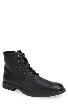 'Elbio' Plain Toe Boot (Men)