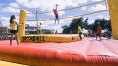 Bossaball: An Obscure Sport with a Samba Twist - YouTube