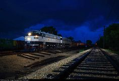 RailPictures.Net Photo: BN1 Burlington Northern Railroad EMD F9(A) at Union, Illinois by Kevin The Krazy 1