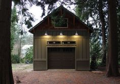 stone, but I like how the siding is done. Nice curb appeal for boat garage.No stone, but I like how the siding is done. Nice curb appeal for boat garage. Garage with Side Porch - Backyard Barn, Backyard Sheds, Outdoor Sheds, Garage Plans, Shed Plans, Garage Ideas, House Plans, Garage Shed, Barn Plans