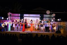 Kassiopi theatre team  presents every year a perfomance for you