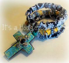 Its a Hodgepodge Life: Rag Bracelet