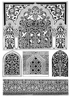 Coloring for adults - Kleuren voor volwassenen Arabic Pattern, Mandala Pattern, Paint Font, Geometric Shapes Art, Islamic Patterns, White Ornaments, Arabic Design, Carving Designs, Border Pattern