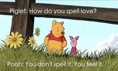 I love Winnie the Pooh!