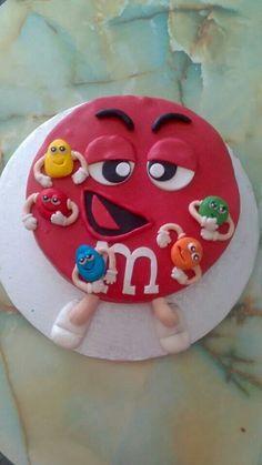 Gâteau M&M'S... ...