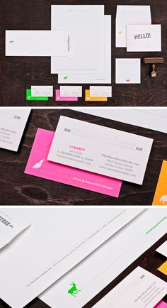 new Matchbox stationery suite