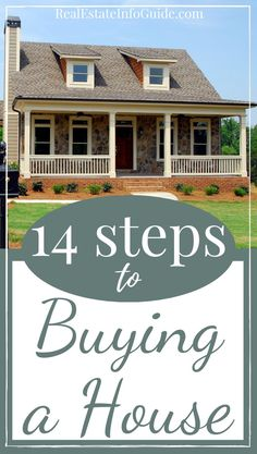 Buying a home is a stressful and complex process. One which cannot be done without time and preparation. So, to give you a taster of what you can expect, here is a 14 step guide to buying a house. Home Buying Tips, Buying Your First Home, Home Selling Tips, Home Buying Process, Next At Home, Real Estate Articles, Real Estate Tips, Looking For Houses, First Time Home Buyers