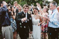 Blow bubbles and kisses to new new Mr and Mrs!   Truly Scrumptious Weddings www.truly-scrumptious-weddings.co.uk