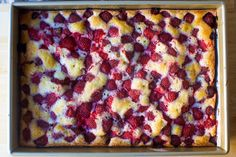 strawberry summer sheet cake – smitten kitchen