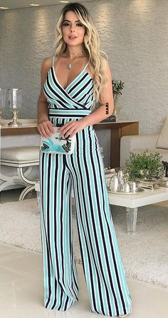 Striped Pants, Spring Summer, Jeans, Casual, Dresses, Fashion, Dungarees, Outfits, Places