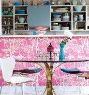 Cuisine: où poser son papier peint pour un maximum d'effet? - Marie Claire Maison