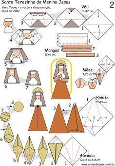Diagrama Santa Terezinha do Menino Jesus - Vera Young pg 2