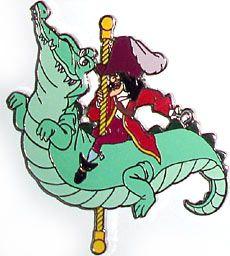 disney hook carousel pin