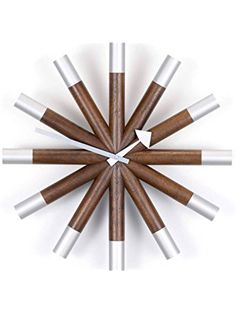 Vitra Wheel Clock by George Nelson ❤ Vitra