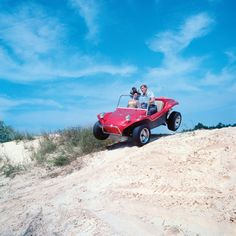 Dune buggy on the beach....This was fun!