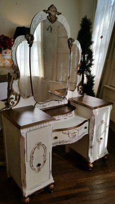 Painted Vanity By Deep Creek Vintage In Fredericksburg, VA