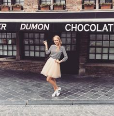 Isabeau looking amazing in one of our Tule Skirts! Love your outfit! XOXO