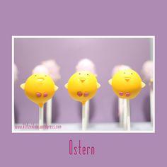 Easter Cake Pops Chicks :)