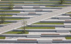 Parking deck New Exhibition Centre, Stuttgart / Fotograf: Archigraphie, S. Vogt, Stuttgart