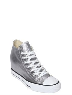 80MM ALL STAR METALLIC CANVAS SNEAKERS Canvas Sneakers 6aeb3ea71