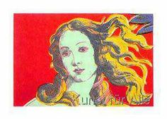 Andy Warhol - Venus red