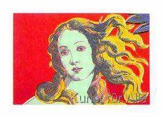 Andy Warhol - Venus red