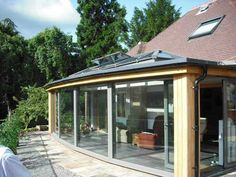 Apropos Conservatories are specialists in their field. View their modern, bespoke design by clicking here. Lean To Conservatory, Glass Extension, Bespoke Design, Modern Glass, Building A House, Gazebo, Extensions, Conservatories, Outdoor Structures