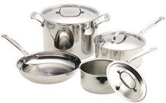 http://yummycakedecorating.com/cuisinart-77-7-chefs-classic-stainless-7-piece-cookware-set/ Cuisinart 77-7 7PC Chefs Classic Stainless Cookware Set - Cuisinart 77-7
