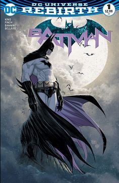 DC Rebirth - une variante de Batman #1 par Michael Turner