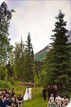 Beautiful!  Alaska wedding