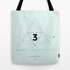 NMBRS Tote Bag by DEYOSE - $22.00