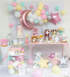 Let's take it back daughter bday Backdrop and balloons Cake table backdrop balloons pink gold white teamwork setup planner Baby Girl Birthday Theme, Baby Girl Shower Themes, Girl Baby Shower Decorations, Birthday Party Decorations, Birthday Parties, Pastel Party Decorations, Birthday Ideas, Star Wars Party, Star Theme Party