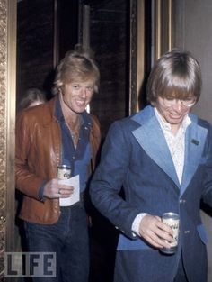 1970's fashion: robert redford & John Denver