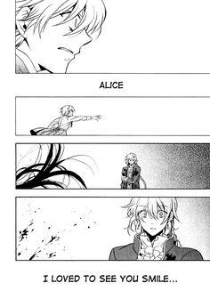 """My dearest Alice"" / Pandora Hearts manga"