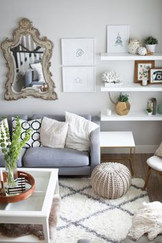 Surrounded with fun decor: http://www.stylemepretty.com/living/2015/07/08/the-prettiest-sofas-ever/