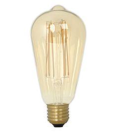 Hetlichtlab | LED long filament Edison 4W GOLD Dimbaar | LED lampen | Lichtbronnen |