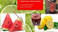 VIAGRA NATURAL PARA HOMBRES Y MUJERES Watermelon, Fruit, Vegetables, Natural, Food, Medicine, Home, Tips, Health