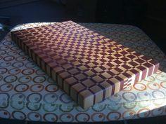 3d cutting boards | End grain cutting board #3