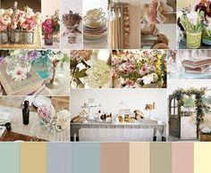 cores do casamento !!