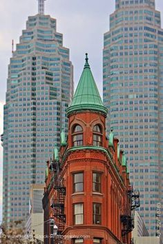 Gooderham Building in Toronto Roof Cap, Ludwig Mies Van Der Rohe, Downtown Toronto, Skate Park, Come And See, Flat Iron, Architecture Details, Ontario, Big Ben