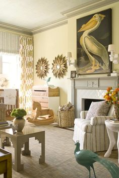 GORGEOUS nursery... <3 that pelican (link: http://paloma81.blogspot.com/2011/05/fabulous-room-friday-052011.html?utm_source=feedburner&utm_medium=feed&utm_campaign=Feed%3A+blogspot%2Fladolcevitablog+%28La+Dolce+Vita%29)