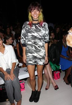 Chloe Norgaard Front Row Betsey Johnson Spring 2015