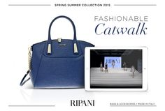 Learn more about the Spring Summer 2015 Collection on https://youtu.be/B_ySu0aTd-g. #feedyourstyle #fashionable #bags #catwalk