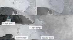 Παγόβουνο-γίγας ταξιδεύει προς τον Ατλαντικό