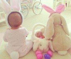 Easter baby pictures #cute