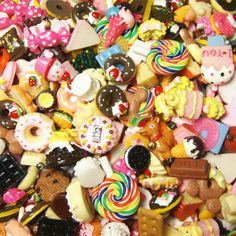 Yearning Accessories DIY Mix Styles Flat back Resin Dessert Cabochons Jewelry Fit Mobile phone Hairpin Headwear 10-25MM 100pcs US $14.00