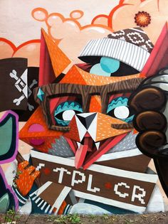 Beyond street art Banksy Project / The Low Bros. Thanks Cat! #street #graffiti