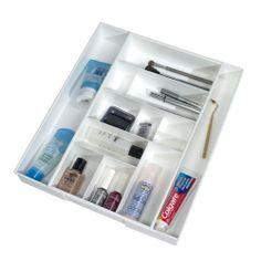 Expand A Drawer Bath & Vanity Organizer #organizedotcom #dreamdorm