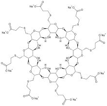 Sugammadex (Bridion) reverses neuromuscular blockade by rocuronium in general anaesthesia. It is the first selective relaxant binding agent (SRBA). The main advantage is reversal of neuromuscular blockade without relying on inhibition of acetylcholinesterase. It is therefore associated with much greater cardiovascular and autonomic stability. There has been little choice previously apart from the use of suxamethonium.  http://www.ncbi.nlm.nih.gov/pubmed/19222434